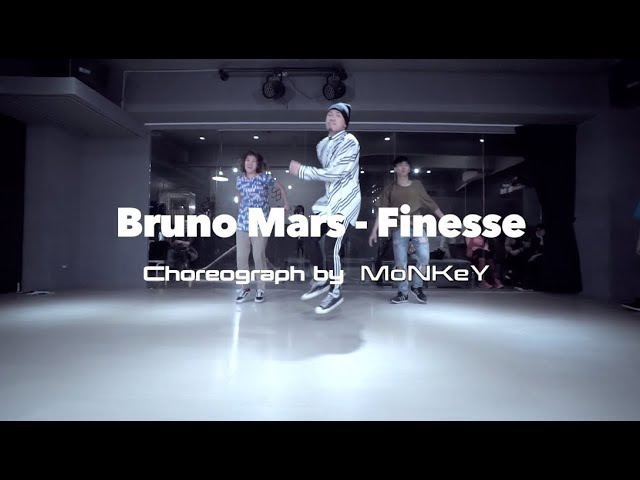 MoNKeY Hiphop @ Bruno Mars - Finesse / Choreograph by Monkey 20170111