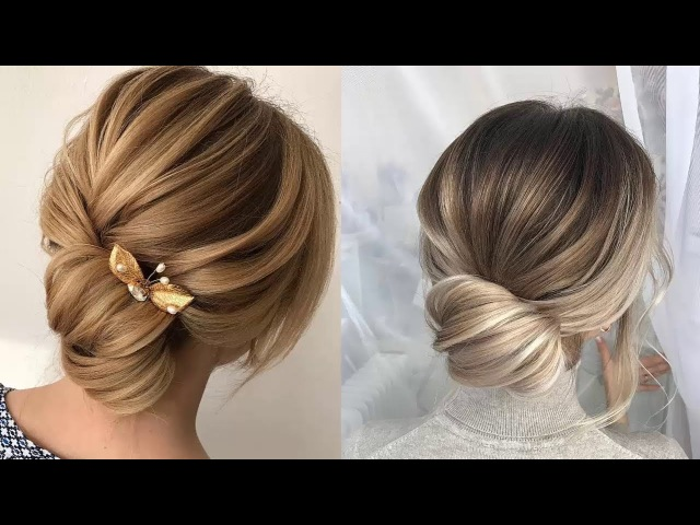 Low Bun Hairstyles || Elegant Low Bun Hairstyles Ideas 2018 || Valentines Day Hairstyles Ideas