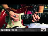 Blue On Black (Kenny Wayne Shepherd Band) - Solo - Guitar Tutorial with Paul Audia