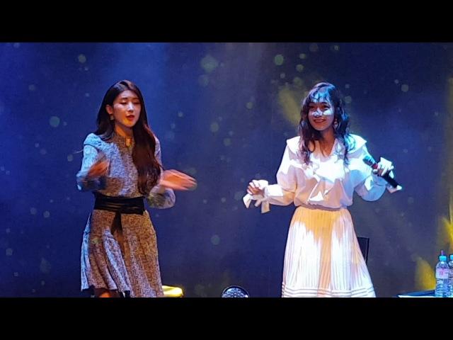 류세라, 문현아 (나인뮤지스 - Dolls) 20180310 뮤즈라이브