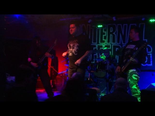 Internal Suffering - Chaotic Matrix (live in Rostov)