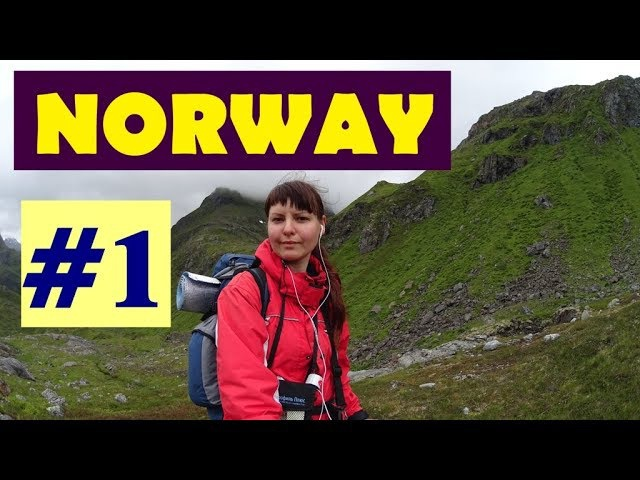 Norway hitchhiking/1 - Nordkapp, Narvik, Lofoten islands