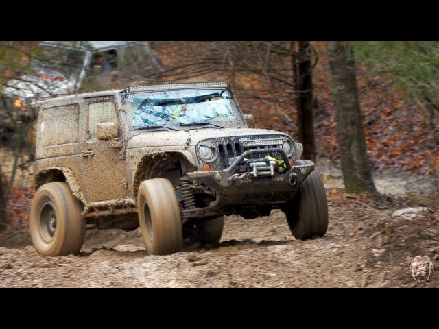 JEEPS MUDDING Frostbite 2018 At Kansas Rocks