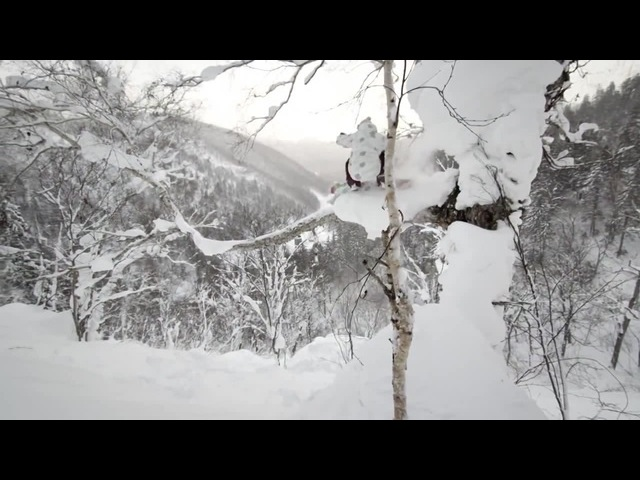 Snowboarding Urban Pillow Lines in Japan - Perceptions coub