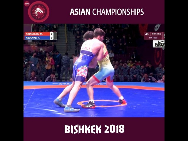 """Olympic Wrestling on Instagram: """"Big Move From Day 1 Of The Asian C'ships 