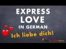 Learn German Vocabulary Love Liebe Valentine's day special