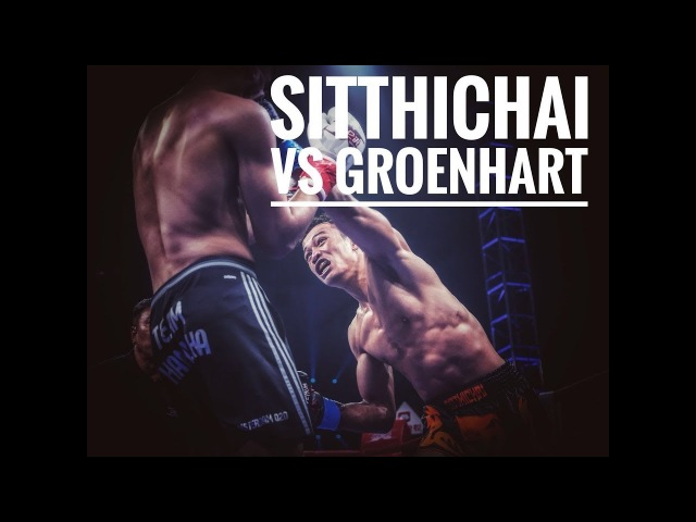 Kickboxing Sitthichai Sitsongpeenong VS Murthel Groenhart FULL FIGHT (2016)