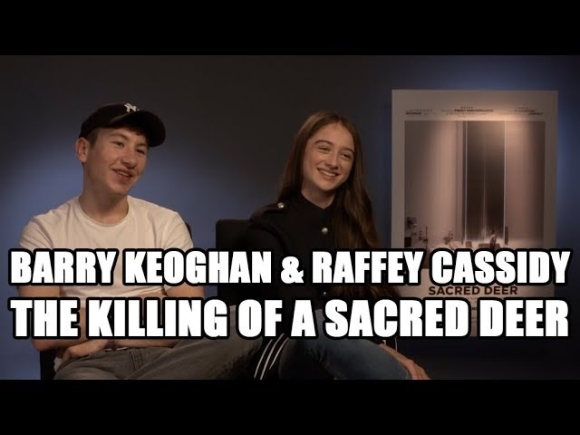 The Killing of a Sacred Deer - Barry Keoghan Raffey Cassidy Exclusive Interview