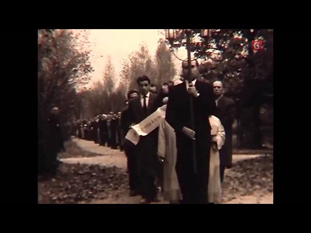 Унікальне відео поховання Степана Бандери уникальное видео похорон Степана Бандеры