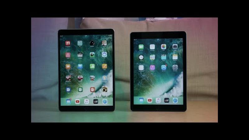 Дорогой или Дешевый iPad 2017 года? ( iPad Pro 10.5 или iPad 9.7)