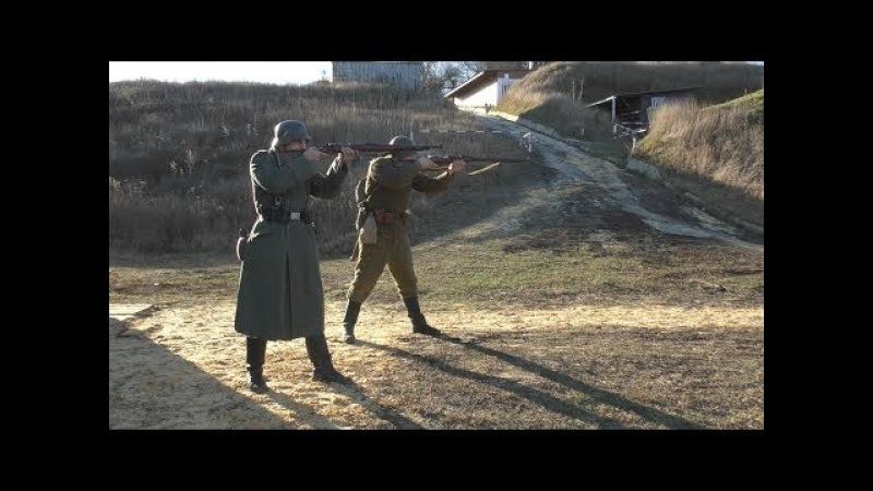 Маузер К98 против винтовки Мосина Нагана М91 30 Часть 4 Mauser K98 vs Mosin Nagant M91 30 Part 4