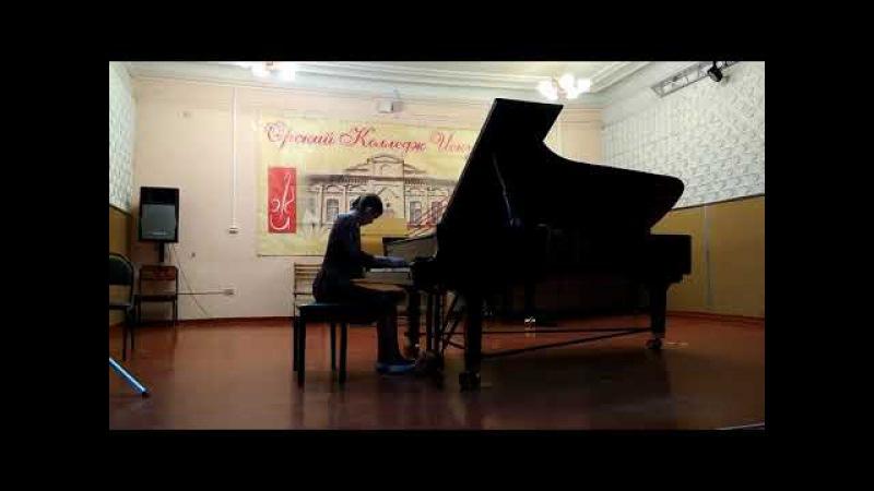 Труханова Ева, 13 лет, исполняет Ф.Шопен Вальс до-диез минор ор. 64. nо. 2.