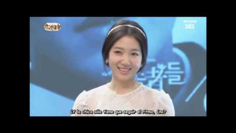 Sub Esp Lee Min Ho Park Shin Hye ❤Interacciones❤ SBS Drama Awards 2013 Vìdeo Dailymotion