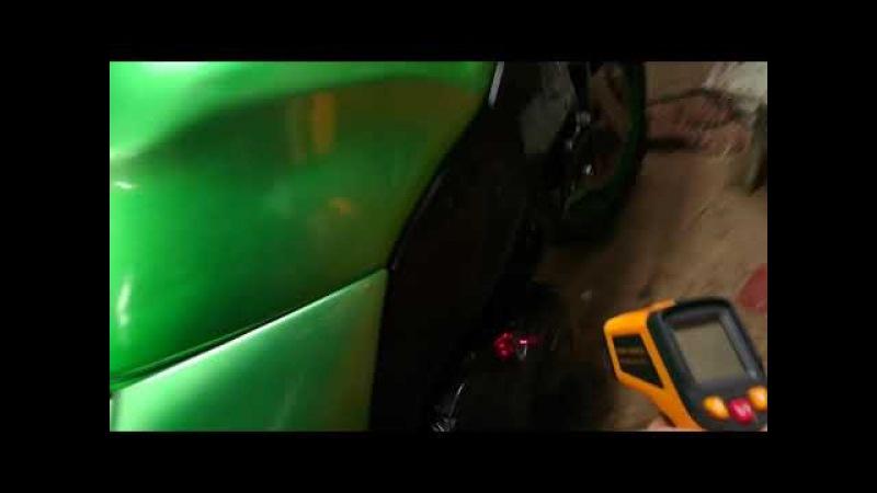 Запуск мотора Suzuki rf400 после недельного простоя при минусовой температуре