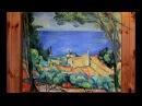 Масляная живопись Пишем картину Эстак с красными крышами Поль Сезанн