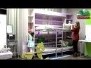 Капелла - двухъярусная шкаф-кровать