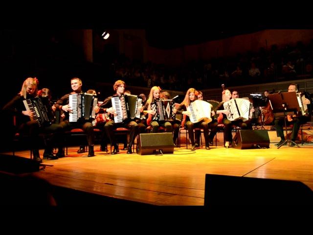 Säkkijärven Polkka performed by Accordion Crew in Stockholm. Dragspel. Fisarmonica.