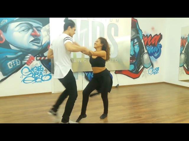 Felipe Garcia and Erica Tintel - Zouk 3 Demo (Ouvir Dizer)
