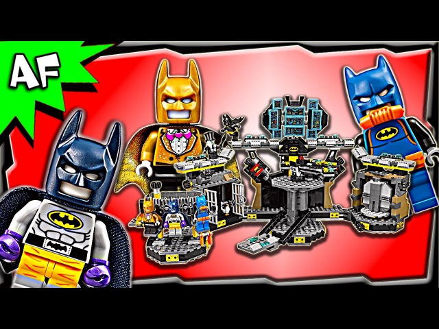 Lego Batman Movie BATCAVE Break-in 70909 Speed Build