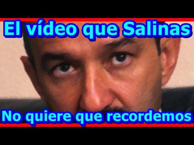 ESTO SÍ LE CALA El material que Carlos Salinas no quiere que jóvenes y adultos conozcan y recuerden