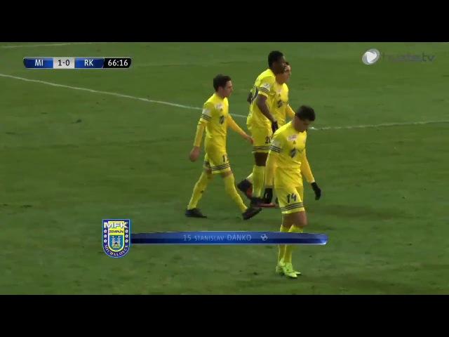 18. kolo 2017/2018 - GÓLOVÝ ZOSTRIH - MFK Zemplín Michalovce vs. MFK Ružomberok