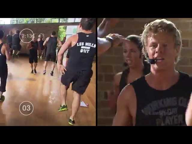 LES MILLS ON DEMAND 12 minute HIIT Workout 2015