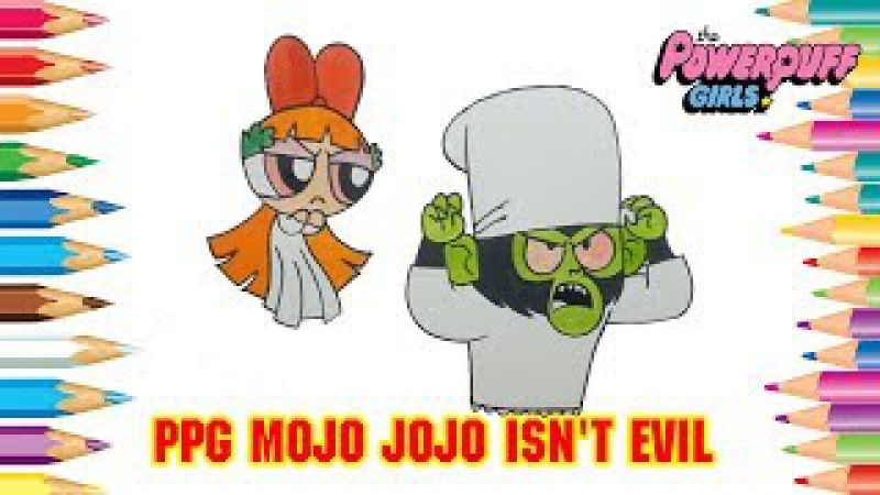 Draw Powerpuff Girls Character | PPG Mojo Jojo Isn't Evil | Powerpuff Girls Color Swap 296
