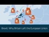 Brexit Why Britain Left the European Union
