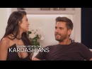 KUWTK Kourtney Kardashian and Scott Disick Address Their Split E!