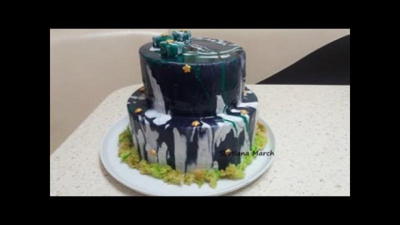 Двухъярусный муссовый торт / Bunk Muscovy cake