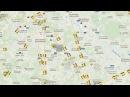 САРАТОВСКИЙ 703 SOV703 НА РАДАРЕ Радиообмен упавшего Ан 148 Самолет Саратовских авиалиний