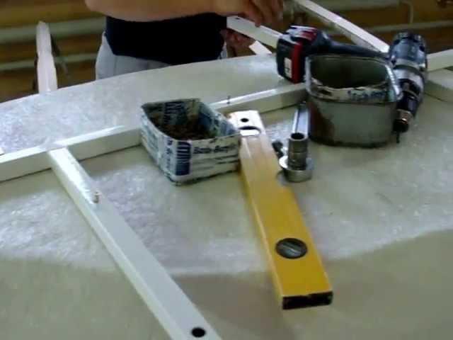 Видео инструкция по сбору каркаса акриловой ванны Bas