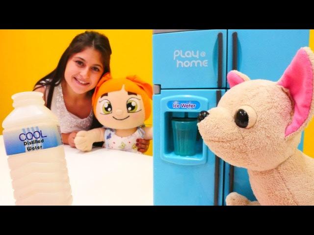 Lili çeşme suyu içti için karnı ağrıyor 🚰. Ayşe ile evcilikoyunları. Eğitici çocukvideoları 💙