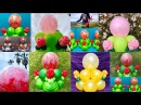 Double-Stuffed Balloon Centerpieces (With Roses!)