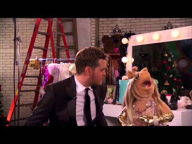 Sebastian Clifford with Miss Piggy - Baby It's Cold Outside