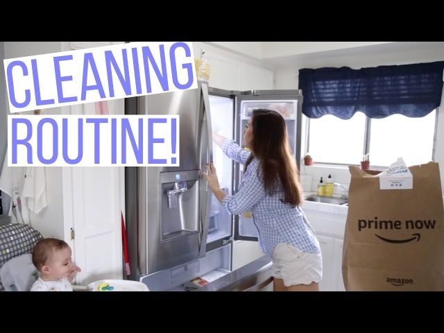 AFTER THE WEEKEND CLEANING ROUTINE   SPEED CLEAN WITH ME!   Hayley Paige