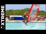 Windsurf Freestyle  Pretty Oda Johanne in Bonaire
