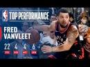 Fred VanVleet Scores 22 Pts in Win vs Cavs January 11 2018 NBANews NBA Raptors