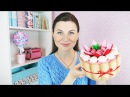 DIY Органайзер в виде тортика из фетра и картона | Своими руками
