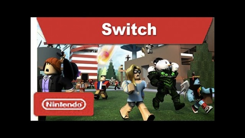 ROBLOX For Nintendo Switch Trailer [Fan-made]