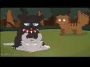 Коты воители Избалованная Бич и Кровоцапка