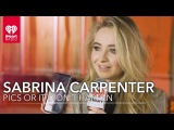 Sabrina Carpenter Shows Photos From Her Camera Roll! Pics Or It Didn't Happen