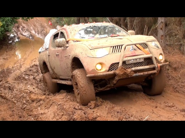 Wow!!...Super 4x4 Trucks Offroad In Extreme Muddy Road Driving