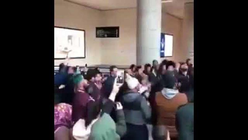 Zikir Olayı 5 Mart 2018 Ankara Esenboğa Havalimanı