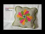 Patchwork Triangl Hypnotic, Corner, Ripple - LizaDecor.com
