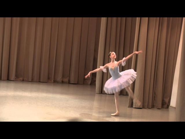 Вариация из балета Весталка исп. Евгения Савкина