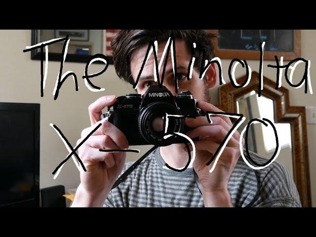 The Minolta x570 in Action