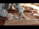 Нарезание берестяных лент
