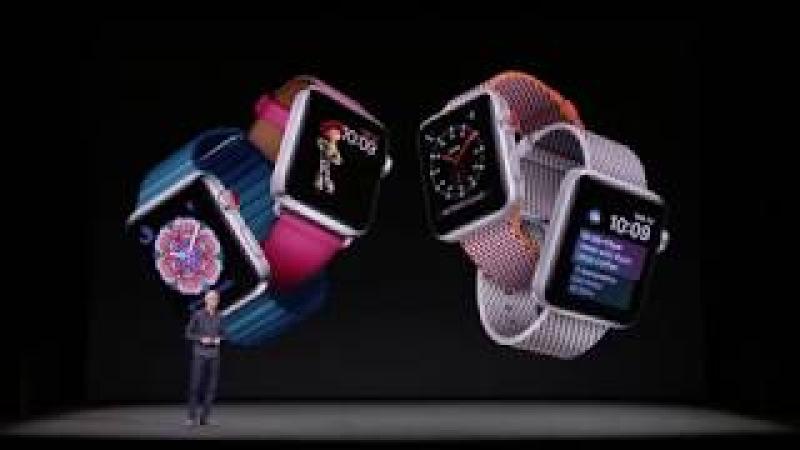 Презентация Apple iPhone X, iPhone 8, Watch Series 3