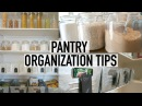 PANTRY ORGANIZATION TOUR 10 TIPS FOR AN ORGANIZED PANTRY ORGANIZE WITH ME